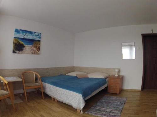 Pokój 4-os. z balkonem i z widokiem na Zatokę